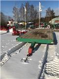 Maskintrailer Grön Ca 6 ton, Maskintransporter