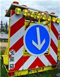 Other CSM REMORQUE PANNEAUX SECURITÉ FLR C.S.M Tablica z, 2005, Apšvietimo bokšteliai