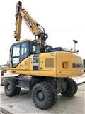 Komatsu PW 180-7, 2010, Wheeled excavators