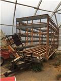 Other forage harvesting equipment Omas CB 170 S,paalinkeruuvaunu