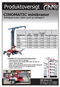 Cinomatic Minikran K800, 2008, Mininosturit