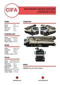 Cifa K52L XRZ / MERCEDES-BENZ AXOR 4140, 2015, Camiões bomba Betão