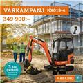 Other VÅRKAMPANJ! Kubota KX019-4 med tiltrotator, 2020, Міні-екскаватори < 7т