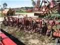 Noble 7 row scuffler/row crop cultivator, Cultivators