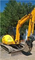 JCB 8060, 2007, Crawler Excavators