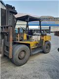 TCM FD80, 1991, Dieseltrukit