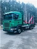 Scania R 500, 2010, Log trucks