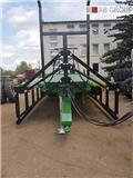 Dinapolis Bale trailer with hydraulic sides 9m 14t/Remorque, 2018, Treler bandela