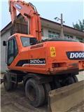 Doosan DH 210 W-7, Mga wheeled excavator