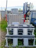 Geda 500 Z ZP, 2011, Vertical mast lifts