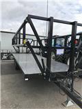 Palmse B3800 Balvagn hyd.grindar Ny!, Ķīpu treileri