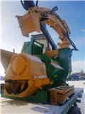 Heizohack HM 8-400 K with VOLVO truck, 2008, Feller buncher