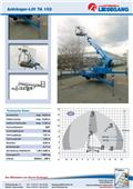 Ruthmann TA152, 1999, Trailer Mounted Aerial Platforms
