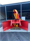Duun VF 253 utstillingsmodel, Snöblad och plogar