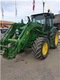 John Deere 6090 R C, 2014, Tractores