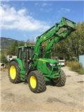 John Deere 6125 M, 2013, Traktorer