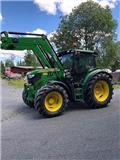 John Deere 6125 R, 2012, Tractores