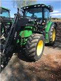 John Deere 6125 R, 2012, Traktorer