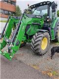 John Deere 6125 R, 2015, Tractors