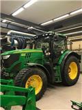 John Deere 6140 R, 2013, Tractors