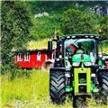 John Deere 6155 R, 2019, Traktorer