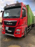 MAN TGX, 2016, Container Frame trucks
