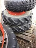 Sprøytehjul,tvilling, 2004, Itsekulkevat ruiskut