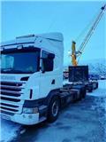 Scania R 480 LB, 2012, Kontejnerski tovornjaki