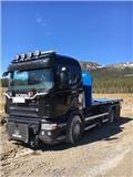 Scania R 500, 2007, Lastväxlare med kabellift