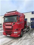 Scania R 580, 2016, Kamioni za podizanje kablova