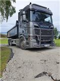Scania R650B6X2 med danskerumpe kun 29.000 km., 2018, Demountable Trucks