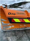 Tellefsdal D70 DIAGONALPLOG, Sniego peiliai ir valytuvai