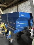 Bogballe Ex Trend 2500 liter, Mineralinių trąšų barstytuvai