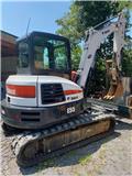 Bobcat E 55, 2020, Crawler excavator