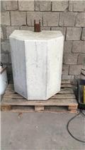 Other 1400 Kg beton gewichtblok، ماكينات زراعية أخرى