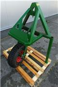gewichtendrager met neuswiel & accord snelkoppel s, Overige accessoires voor tractoren
