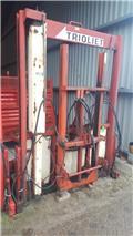 Trioliet TU 170 met lift, Bale shredders, cutters and unrollers