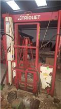 Trioliet TU 170 met lift, Cortadores, moinhos e desenroladores de fardos