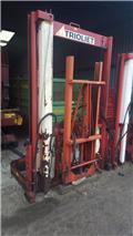 Trioliet TU 195 met lift, Pencincang, pemotong dan pembuka gulungan bandela