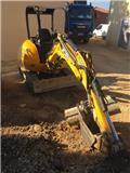 JCB 8025 ZTS, 2016, Mini excavators < 7t (Mini diggers)