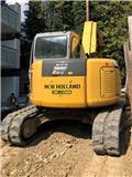 New Holland E 70 B SR, 2008, Excavadoras 7t - 12t