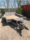 Ifor Williams 3 ton Tandem Axle Plant Trailer, 2013, Other trailers