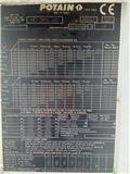 Potain MD 265, 1995, Torņa krāni