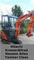 Hitachi ZX 16, 2014, Mini bagri <7t