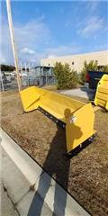 8' Snow Pusher - Fits Skid Steer, Other road and snow machines