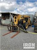 Forklift, Caterpillar, Broken Mast, Rough Terrain Trucks