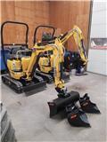 Yanmar ViO 12, 2021, Mini Excavators <7t (Mini Diggers)