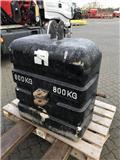 Allround vægtklods 800 KG., Overige accessoires voor tractoren