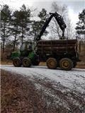 John Deere 1110E, 2011, Tomruk yükleyici traktörler