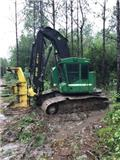John Deere 753 J, 2014, Feller bunchers